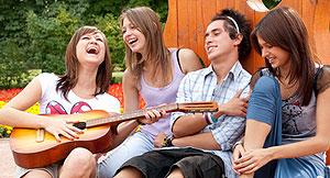 Musik ist eine internationale, kreative und friedliche Sprache