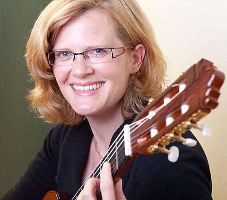 Gitarrenlehrerin Carina Prein, Gitarrenschule Gitarreros Wiesloch-Schatthausen
