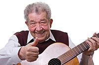 Gitarrespielen fördert Gedächtnis und Konzentration